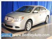 Excellent Condition, Buick Certified, GREAT MILES