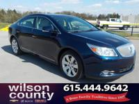 2012 Buick LaCrosse Touring Group 3.6L V6 E85 Flex Fuel