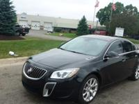 2012 Buick Regal GS, 47,824 odometer mileage, VIN#