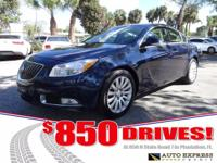 Options:  2012 Buick Regal The Buick Regal Is A Luxury