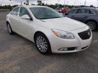 White Diamond Tricoat 2012 Buick Regal FWD 6-Speed