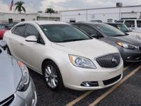 CARFAX One-Owner. Clean CARFAX. Summit White 2012 Buick