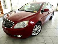 Crystal Red Tintcoat 2012 Buick Verano Leather Group