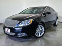 Black Onyx 2012 Buick Verano Leather Group FWD 6-Speed