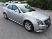This outstanding example of a 2012 Cadillac CTS Sedan