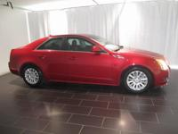 Options:  2012 Cadillac Cts Luxury|Red|Clean Carfax.