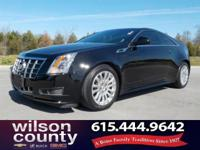 2012 Cadillac CTS 3.6L V6 DI VVT Black Raven