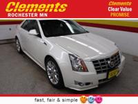 Options:  2012 Cadillac Cts Sedan 4Dr Sdn 3.6L Premium