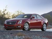 Recent Arrival! 2012 Cadillac CTS 4D Sedan Premium