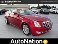 2012 CADILLAC CTS PERFORMANCE COUPE - LOCATED IN WEST