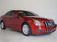 2012 Cadillac CTS Luxury Clean CARFAX. CTS Luxury, 4D