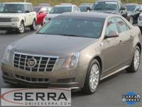 2012 CADILLAC CTS AWD SEDAN, CADILLAC CERTIFIED, ONE