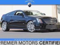 Options:  2012 Cadillac Cts-V Black 6.2L V8 Automatic 2