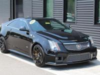 CTS-V COUPE!  CLEAN CARFAX with SERVICE HISTORY!  WELL