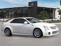 Pre-Owned 2012 Cadillac CTS-V. White Diamond Tricoat