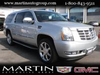 Options:  2012 Cadillac Escalade Esv Awd 4Dr