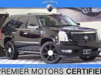 Options:  2012 Cadillac Escalade Luxury Black 6.2L