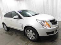 2012 Cadillac SRX Luxury in White... AWD. Your lucky
