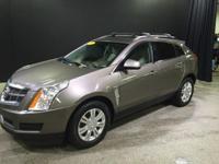 2012 Cadillac SRX Luxury in Mocha Steel Metallic. AWD.