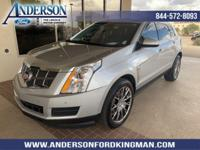This Cadillac SRX has a strong Gas/Ethanol V6 3.6L/217