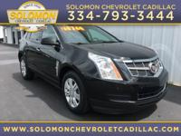 2012 Cadillac SRX Luxury in Black vehicle highlights
