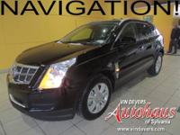 This Luxury package SRX is equipped with the upgraded