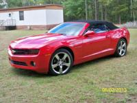 I have a 2012 Chevy Camaro 2LT Convertible red in shade
