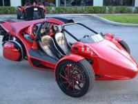2012 Campagna T-Rex 14R Color: Race Red  Mileage: