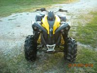 2012 CAN AM RENEGADE XXC ALL STOCK WITH THE EXCEPTION