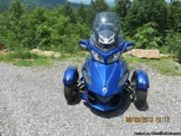 2012 Can-Am Spyder The bike is in great shape, no dings