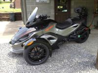 Year: 2012Mileage: 6,160Make: Can-AmExterior Color: