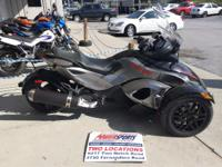 2012 Can-Am Spyder RS-S SE5 Tall winsheild already
