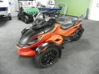 SUPER CLEAN 2012 CAN-AM SPYDER RS-S SE5 WITH B.E.S.T.