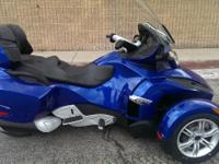 2012 Can-Am Spyder RT Audio & Convenience SE5 Has All