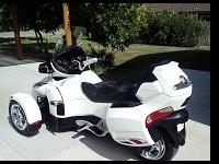 For sale is a 2012 Can-Am Spyder RT (Roadster Touring)