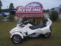 2012 Can-Am Spyder RT Limited Pearl White RT Limited