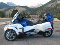 Before I bought it, the Can-Am dealer swapped out the