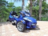 This 2012 Blue RT-S - SM5 with ONLY 1,646 miles .....