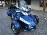 2012 Can-Am Spyder RT-S SE5 One owner floorboards