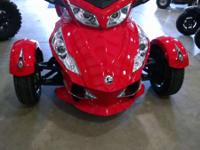 2012 Can-Am Spyder RT-S SE5 This Spyder has a lot of