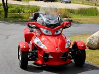 2012 CAN-AM® SYDER® RT-S SM5  Including all the
