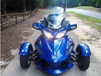 Trike Motorcycle, BLUE MET, 1,000 cc, ROTAX VTWIN,