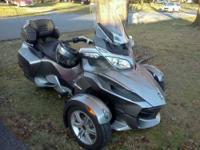 2012 Can Am Spyder, RT SSE Trike This 2012 Can Am
