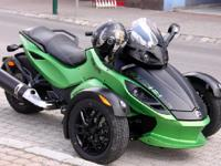2012 Can Am Spyder. 5100 miles- Just serviced by Halls