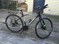 Hi there!  I have a 2012 Cannondale Quick CX 4 for