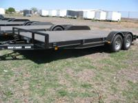 2012 CAR HAULER 83 X 18 W/SIDE RAMPS 2-35K AXELS CALL