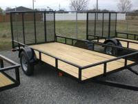 2012 CAROLINA 6X12 UTILITY Our Location is: Lee Inc. of
