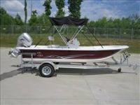2012 CAROLINA SKIFF JXV CC 18 with 2012 Honda fuel