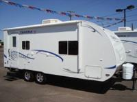 2012 Chalet Takena 2265-EX Lite Weight Travel Trailer