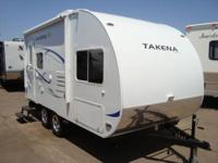 2012 Chalet Takena 1865-EX Lite Weight Travel Trailer ,